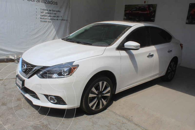 Foto Nissan Sentra Exclusive Aut NAVI usado (2018) color Blanco precio $269,000