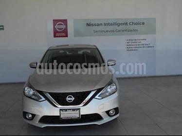 Nissan Sentra 4P ADVANCE L4/1.8 MAN usado (2018) color Plata precio $249,000