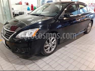 Nissan Sentra 4P SR L4/1.8 AUT NAVE usado (2016) color Negro precio $195,000