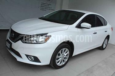 Nissan Sentra 4p Advance L4/1.8 Man usado (2018) color Blanco precio $219,000