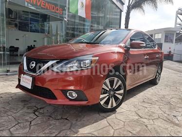 Nissan Sentra 4p Exclusive L4/1.8 Aut Nave usado (2017) color Rojo precio $245,000