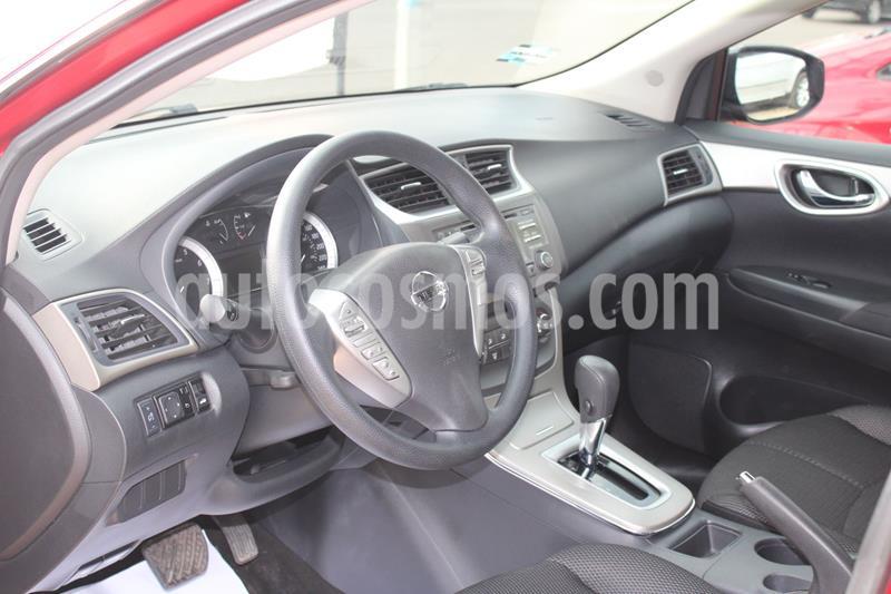 Nissan Sentra Advance usado (2013) color Rojo precio $146,000