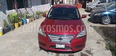 Nissan Sentra Sense usado (2016) color Rojo precio $155,000