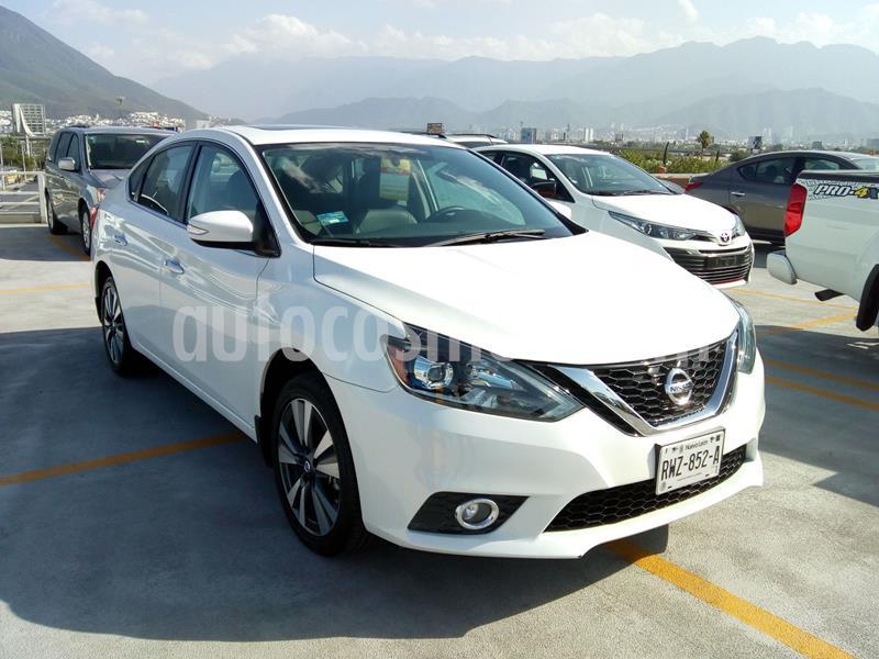 Nissan Sentra Exclusive Aut  usado (2018) color Blanco precio $319,879