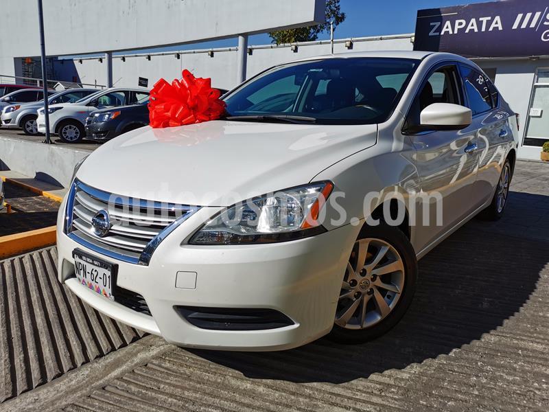 Nissan Sentra Sense usado (2015) color Blanco Perla precio $160,000