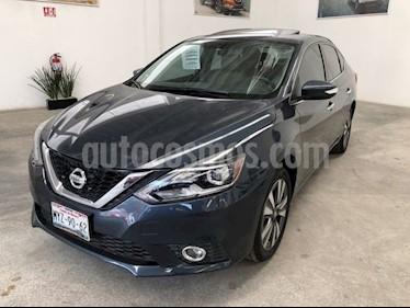 Nissan Sentra Exclusive Aut  usado (2017) color Azul Electrico precio $245,000