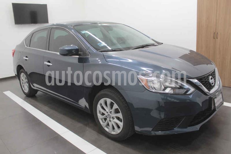Nissan Sentra Sense usado (2017) color Azul precio $189,000