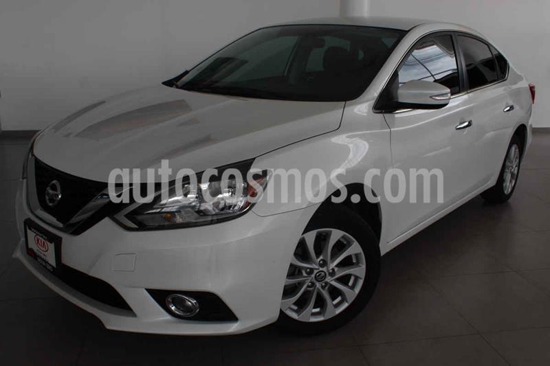 Nissan Sentra Advance Aut usado (2017) color Blanco precio $225,000
