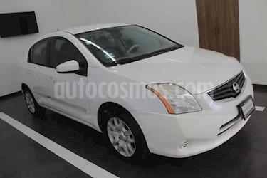 Nissan Sentra Custom CVT Xtronic usado (2012) color Blanco precio $104,000
