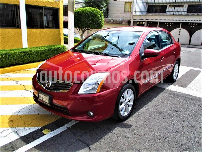Nissan Sentra Emotion usado (2011) color Rojo Burdeos precio $104,900