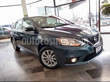 Nissan Sentra Advance Aut usado (2017) color Verde precio $215,000