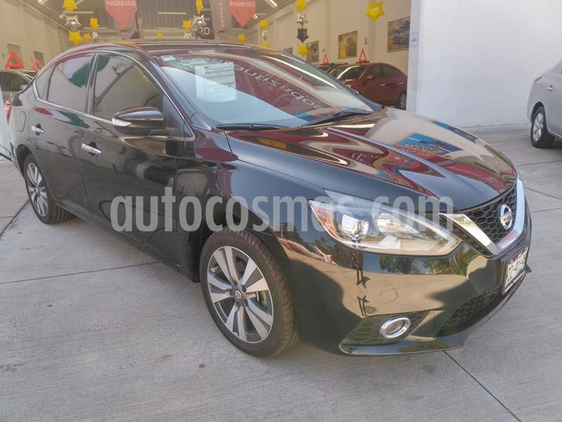 Nissan Sentra Exclusive Aut  usado (2017) color Negro precio $2,015,000