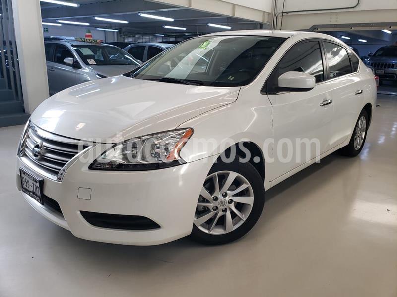 Nissan Sentra Sense Aut usado (2013) color Blanco precio $147,100