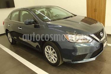 Nissan Sentra 4p Sense L4/1.8 Aut usado (2017) color Azul precio $195,000