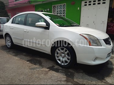 Nissan Sentra Custom usado (2010) color Blanco precio $78,500