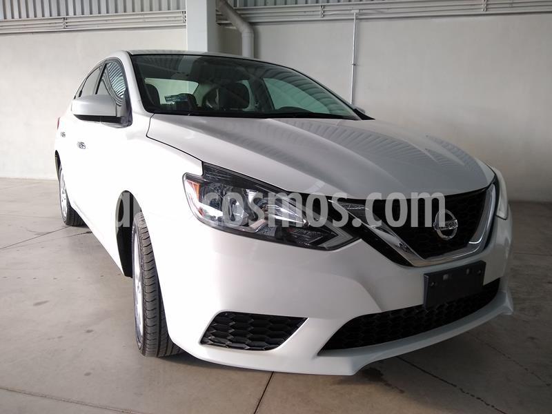 Nissan Sentra Sense usado (2018) color Blanco precio $192,000