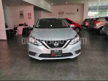 Nissan Sentra 4p Sense L4/1.8 Man usado (2017) color Gris precio $194,000
