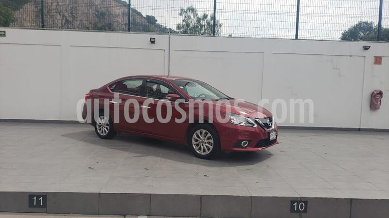 Nissan Sentra Advance usado (2017) color Rojo precio $196,000
