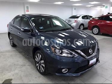 Nissan Sentra 4P EXCLUSIVE L4/1.8 AUT NAVE usado (2018) color Azul precio $275,000
