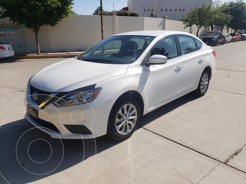 Nissan Sentra Sense Aut usado (2019) color Blanco precio $229,900