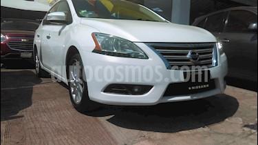 Nissan Sentra Advance Aut usado (2015) color Blanco Perla precio $169,000