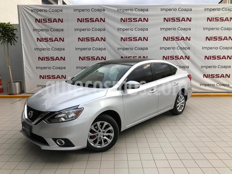 Nissan Sentra Advance usado (2018) color Plata precio $234,000