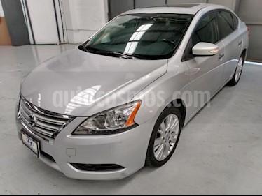 Nissan Sentra 4P EXCLUSIVE L4/1.8 AUT NAVE usado (2013) color Plata precio $155,000