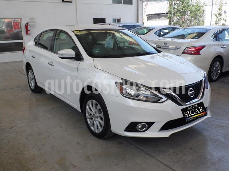 Nissan Sentra Advance Aut usado (2017) color Blanco precio $189,000