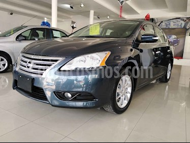 Nissan Sentra 4p Advance L4/1.8 Aut usado (2016) color Gris precio $199,900