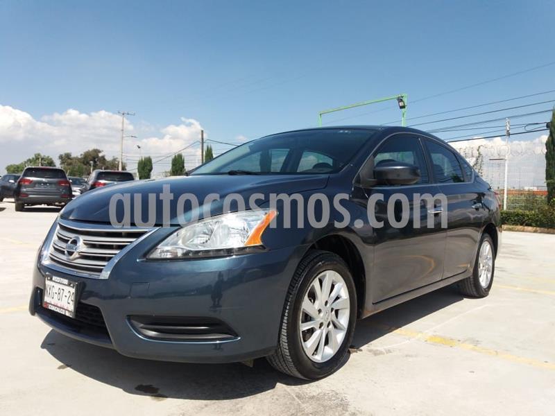 Nissan Sentra Sense Aut usado (2016) color Negro precio $139,000