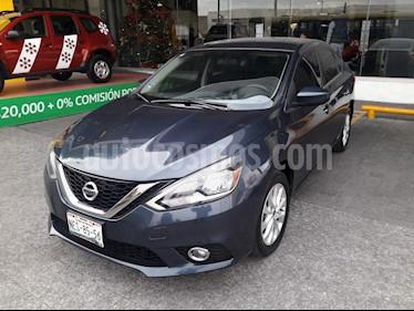Nissan Sentra Sense usado (2017) color Azul precio $195,115