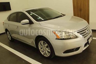 Foto Nissan Sentra 4p Exclusive L4/1.8 Aut usado (2016) color Plata precio $199,000