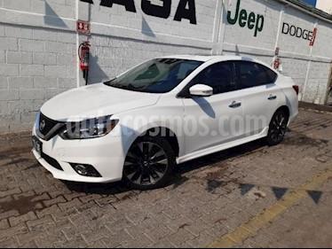 Nissan Sentra 4P SR L4/1.8 MAN usado (2017) color Blanco precio $270,000