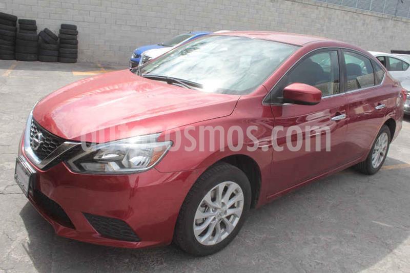 Nissan Sentra Sense usado (2018) color Rojo precio $209,000