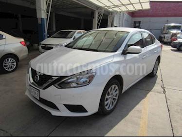 Nissan Sentra Sense Aut usado (2019) color Blanco precio $110,000