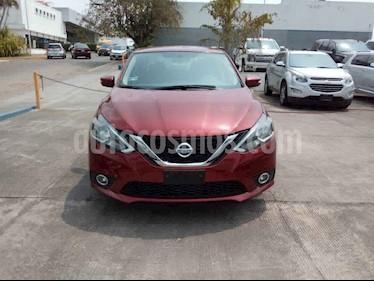 Nissan Sentra 4p Advance L4/1.8 Aut usado (2018) color Rojo precio $225,500