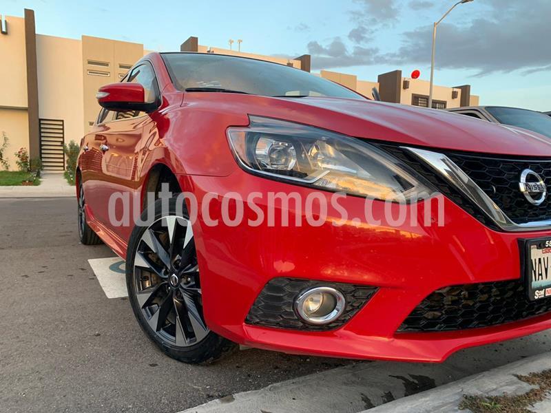 Nissan Sentra SR Turbo usado (2017) color Rojo precio $220,000
