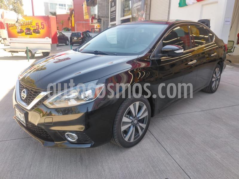 Nissan Sentra Exclusive Aut  usado (2017) color Negro precio $215,000