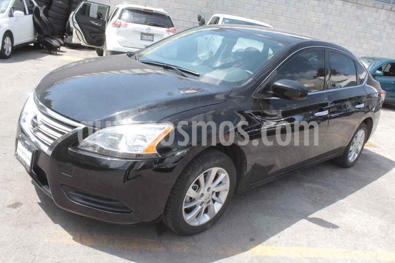 Nissan Sentra Sense Aut usado (2015) color Negro precio $169,000