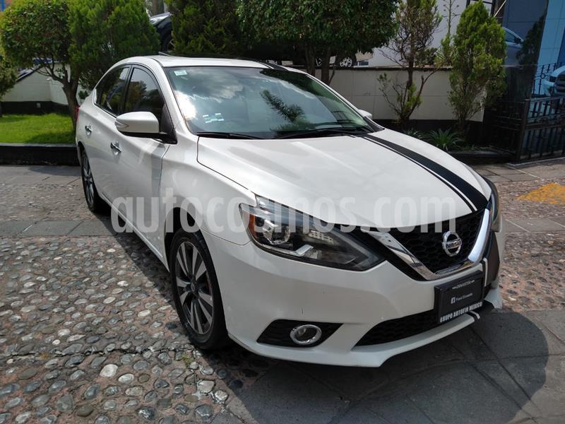 Nissan Sentra Exclusive Aut  usado (2017) color Blanco precio $225,000