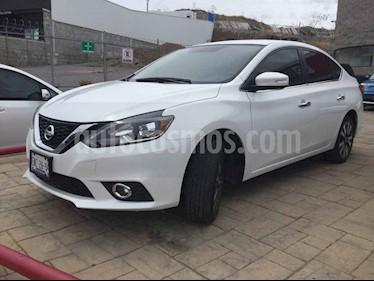 Nissan Sentra 4p Exclusive L4/1.8 Aut Nave usado (2017) color Blanco precio $248,000