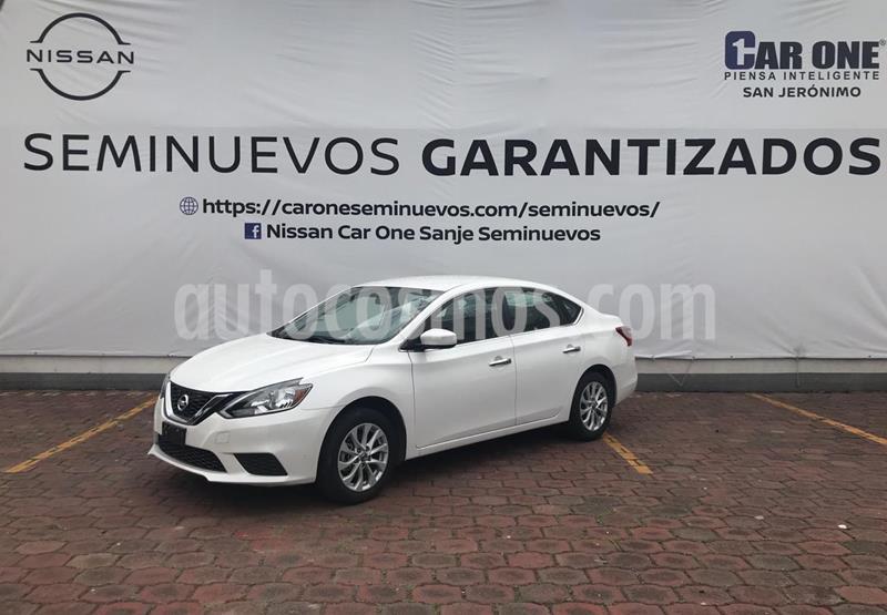 Nissan Sentra Sense usado (2017) color Blanco precio $189,900