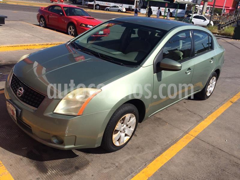 Nissan Sentra Custom usado (2008) color Verde precio $58,000