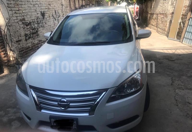 Nissan Sentra Exclusive Aut  usado (2016) color Blanco precio $185,000