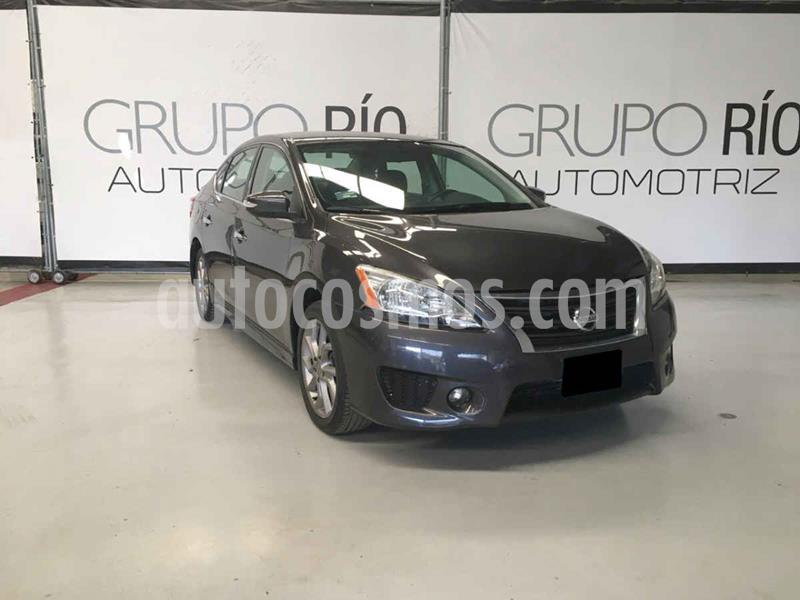 Nissan Sentra SR Aut NAVI usado (2015) color Gris precio $169,000
