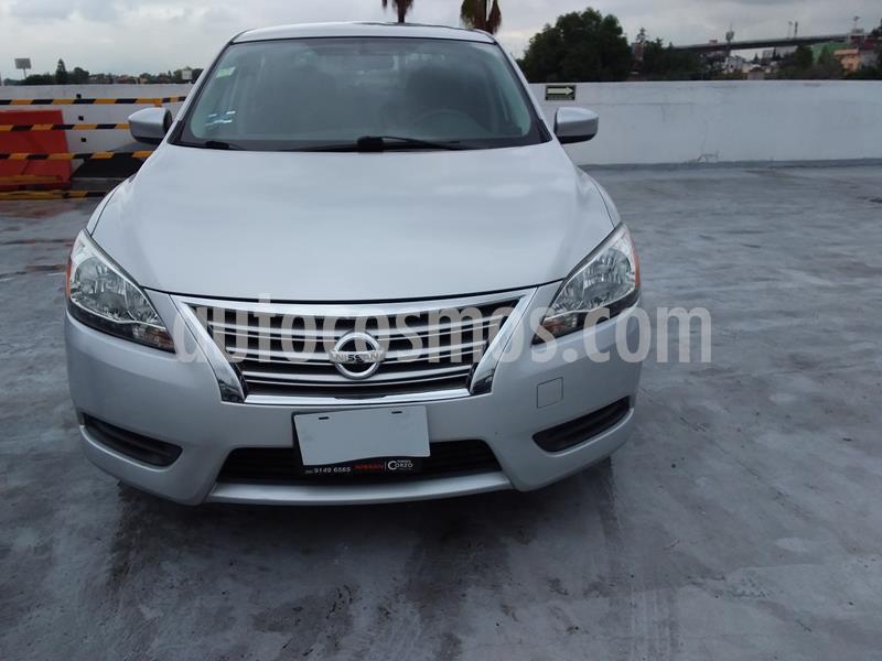 Nissan Sentra Sense Aut usado (2013) color Plata precio $130,000