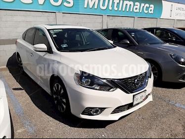 Nissan Sentra SR Turbo usado (2017) color Blanco precio $245,000
