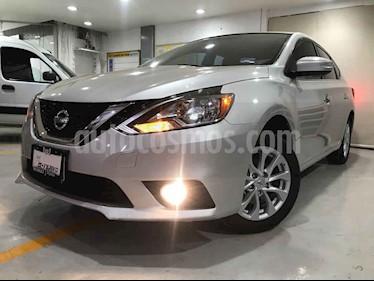 Nissan Sentra 4p Advance L4/1.8 Aut usado (2018) color Plata precio $227,500