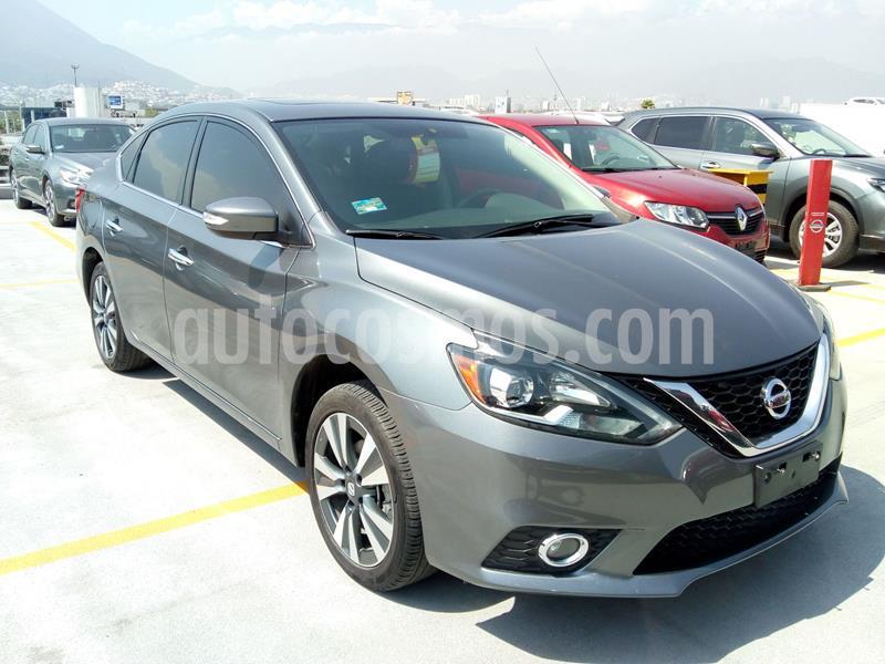 Nissan Sentra Exclusive Aut  usado (2018) color Gris precio $297,900