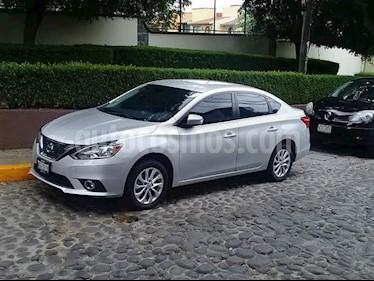 Nissan Sentra Advance Aut usado (2017) color Plata precio $207,000